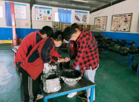 汽车维修专业培训,技工学校有方法