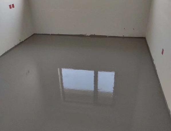 河南厚层自流平施工案例:正弘置业丽町公寓厚层自流平材料加施工