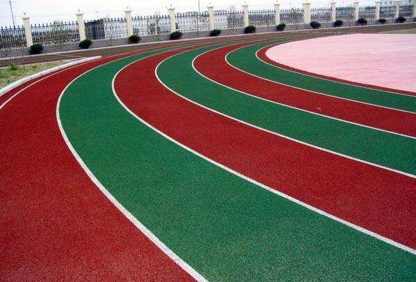 河南塑胶跑道工程案例