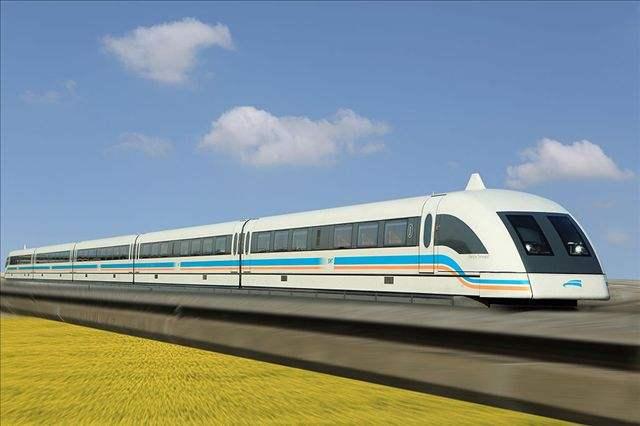 交通轨道——上海磁悬浮