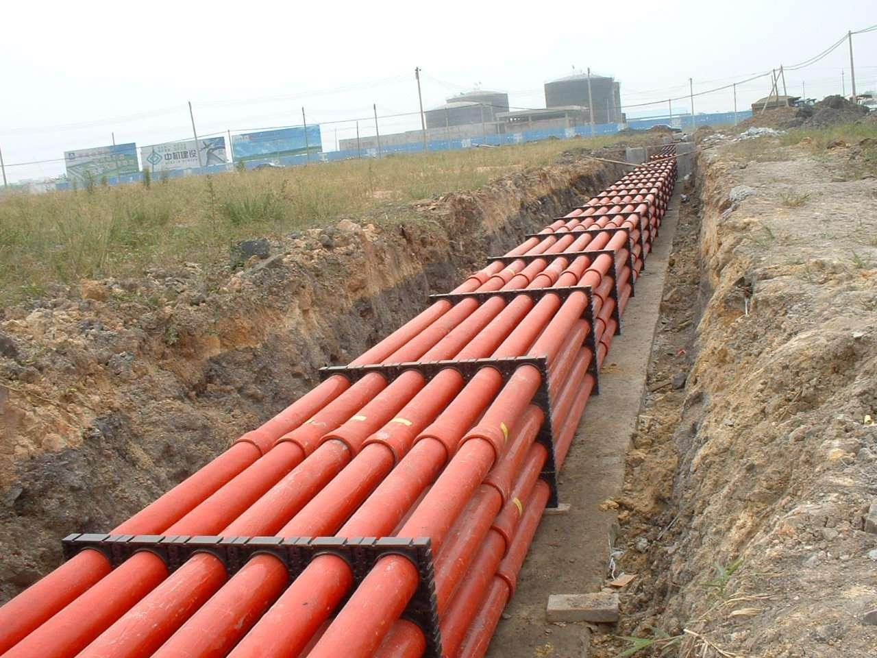市政建设中电缆穿管敷设