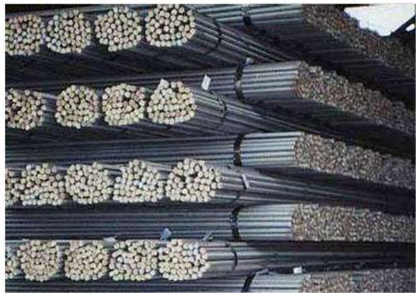 新疆焊管钢材存放区