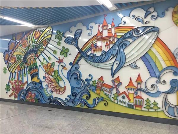 郑州手绘壁画的这些独特之处区别于墙贴和壁纸