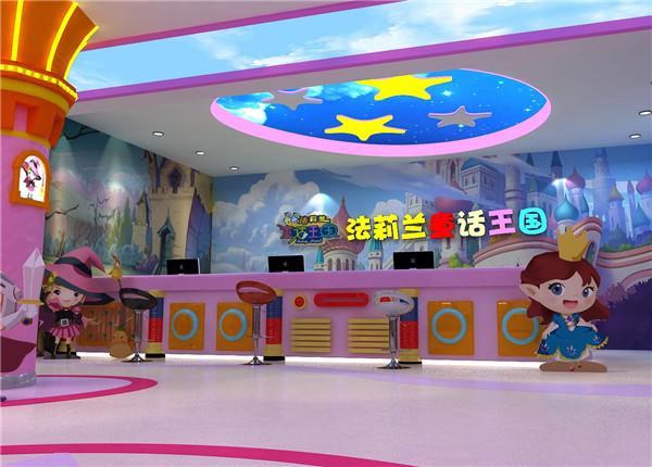 郑州童话王国欢乐园手绘壁画