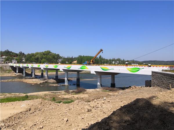 信阳市浉河区马家畈大桥彩绘