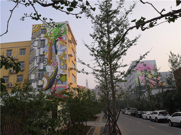 鹤壁市淇滨区市政文化墙体彩绘
