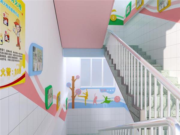 郑州东风路金水小学墙体彩绘