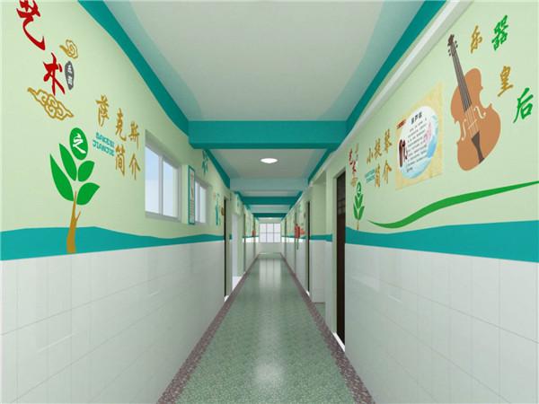 郑州货栈街小学墙体彩绘
