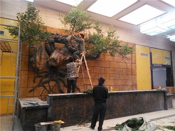 安徽阜阳碧翠湖生态园景观雕塑
