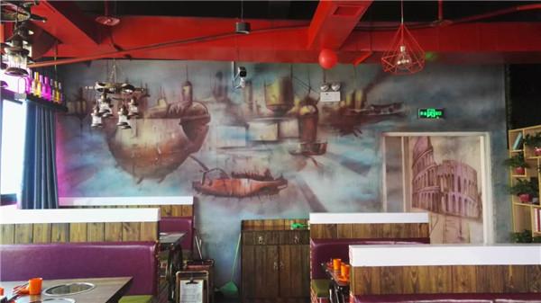 郑州墙体彩绘告诉您环境创设成为幼儿教育的重要一环