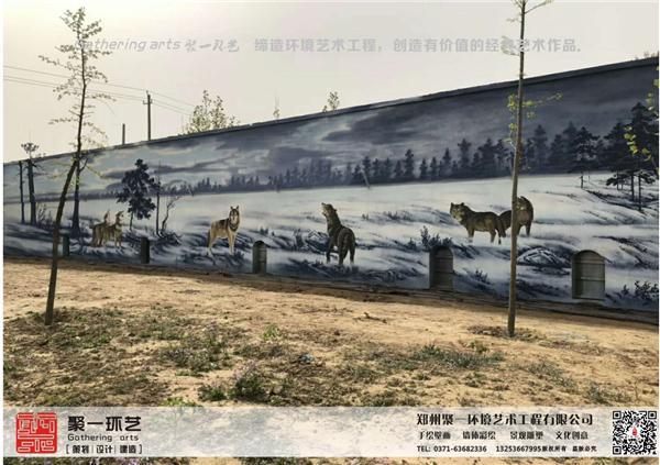 郑州墙体彩绘用什么来延缓颜料干燥时间