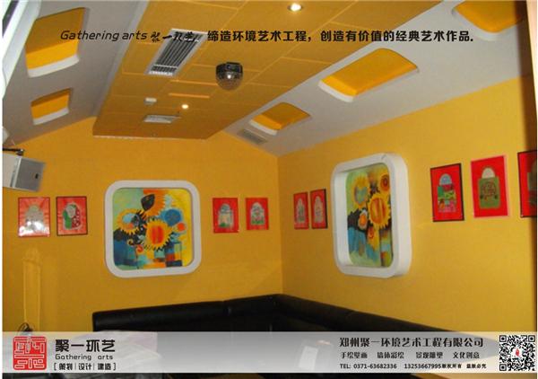 郑州墙体彩绘是绘师人力绘图的