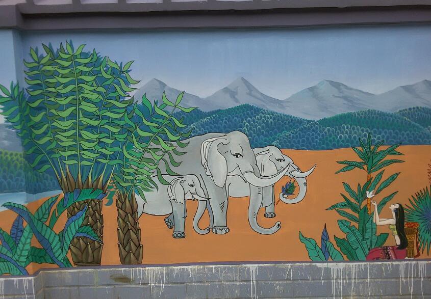 想要环保又好看的装修?墙体彩绘别错过了!
