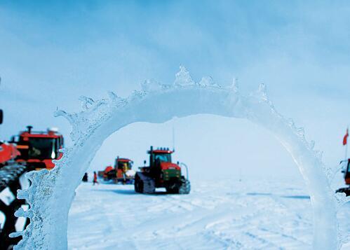 南极冰穹A,夜间观星.清晰