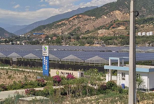 四川太阳能温室大棚