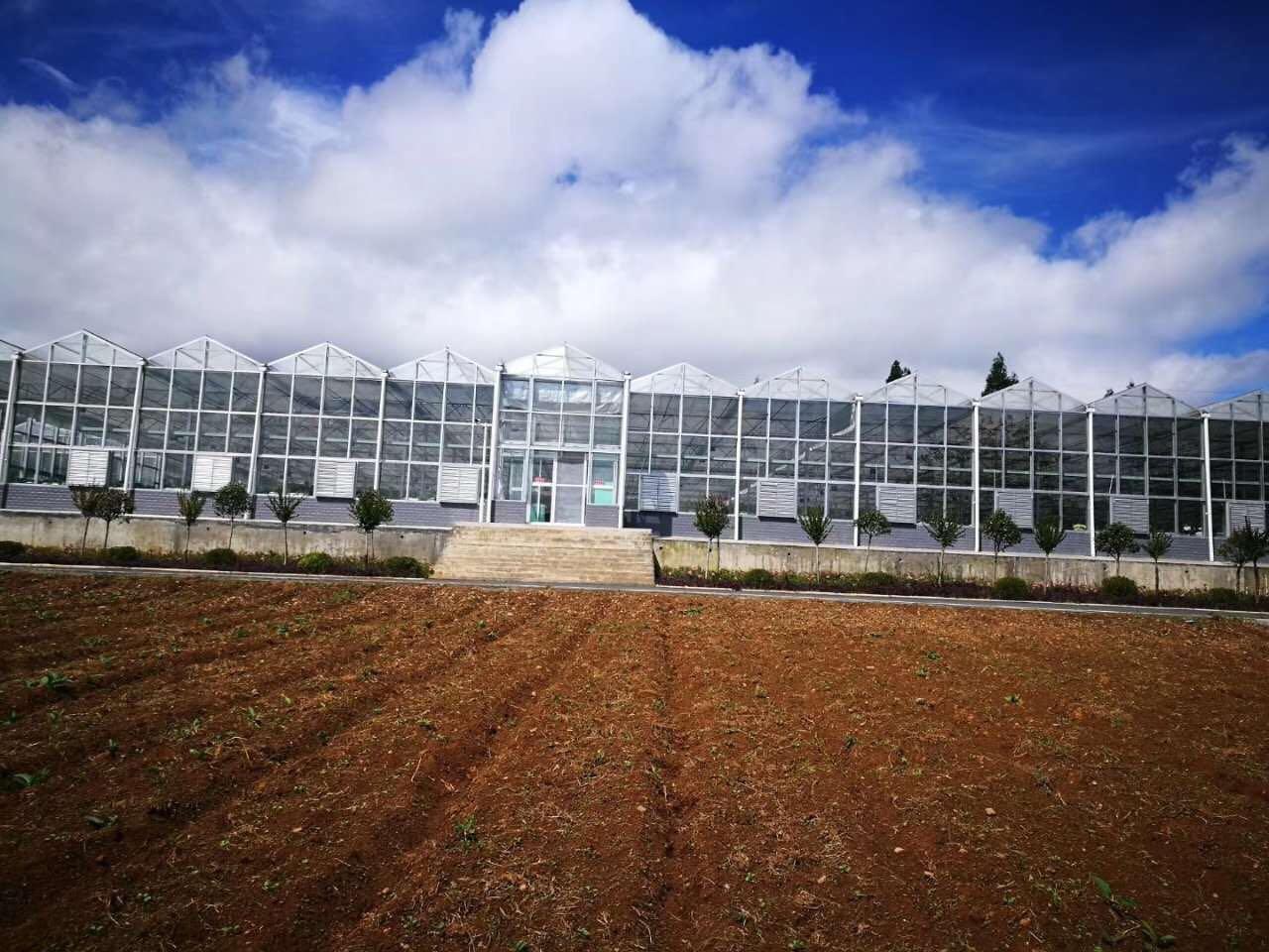 西昌玻璃温室大棚工程施工成功案例