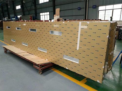 四川铝单板厂区面貌