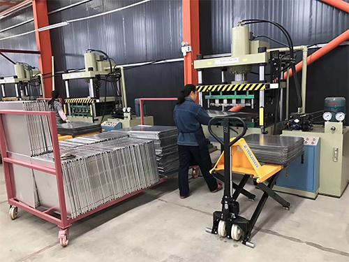四川铝单板生产基地面貌