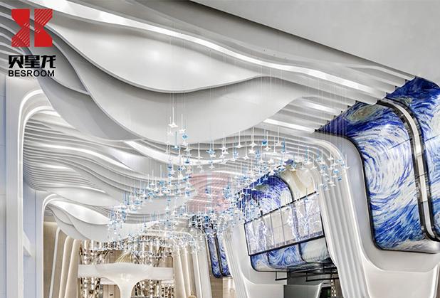 四川鋁單板廠家-異型鋁單板吊頂