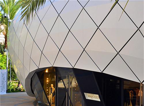 為什么四川鋁單板成為建筑幕墻的主流