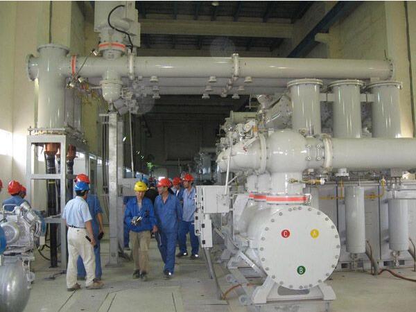呼市某热电厂采购300吨机器底座灌浆料