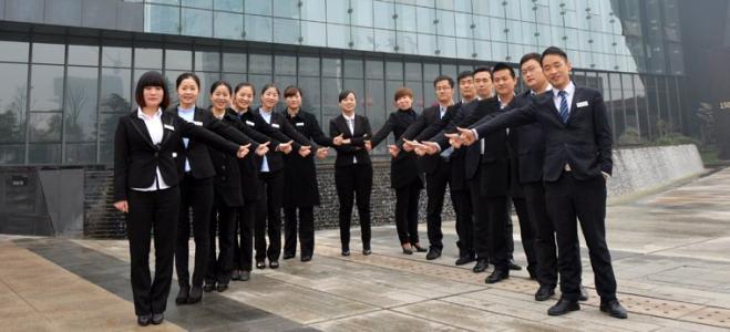 竹木纤维墙板销售团队