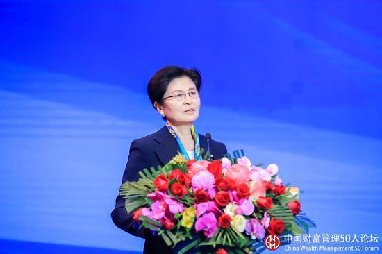 中国国债协会孙晓霞:内地和香港资本市场不断融合和发展