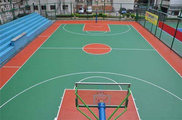 长安区培华南路篮球场及足球场
