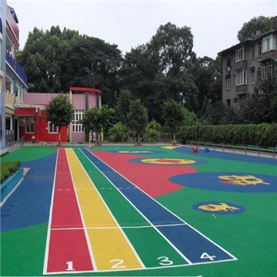 西安幼儿园EPDM施工