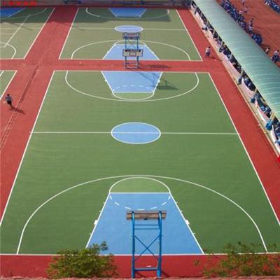 丙烯酸篮球场供应