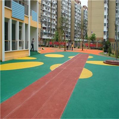 幼儿园施工EPDM塑胶地坪