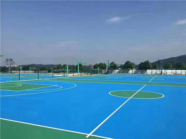 西安校园篮球场