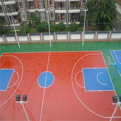 西安丙烯酸篮球场