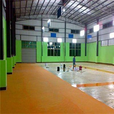 环氧地坪漆施工材料不够的原因和解决方法