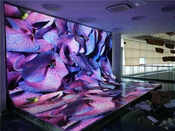 安康文化中心与我司合作led显示屏