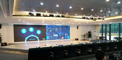 电信科技智慧馆LED显示屏合作案例
