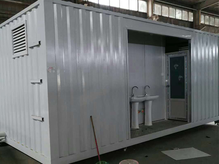 集装箱卫生间展示