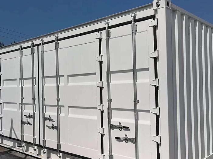 集装箱式货柜展示