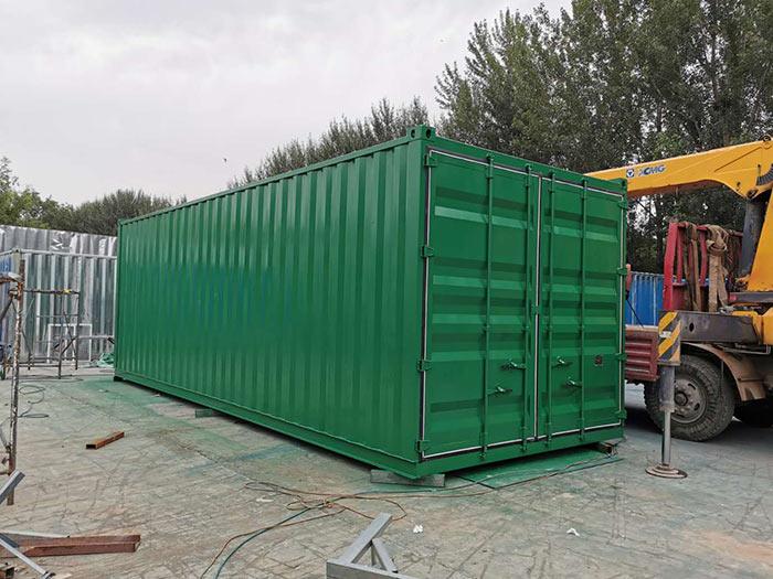 集装箱式货柜图片