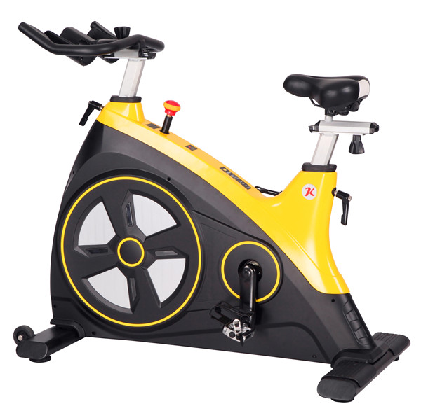 新款动感单车  大飞轮动感单车 健身自行车批发