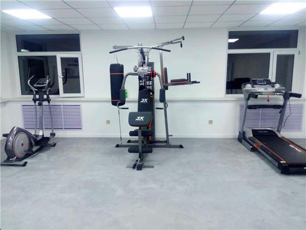 西夏区某社区党群活动中心健身活动室