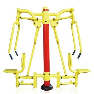 户外健身器材无处不在, 易航教你玩转健身器材