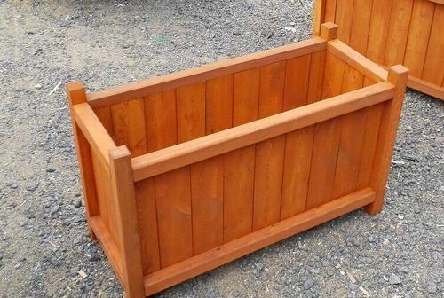 敲黑板:防腐木花箱怎樣處理養花長的好?