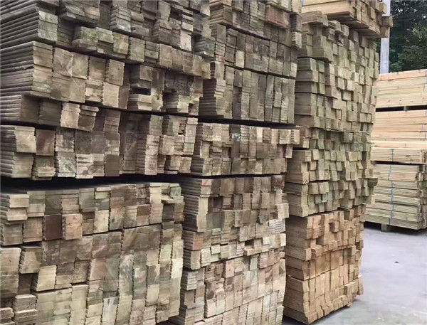 成都防腐木屋建設工廠展示