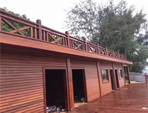 绵阳防腐木木屋工程案例