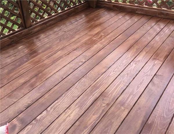 绵阳防腐木地板工程案例