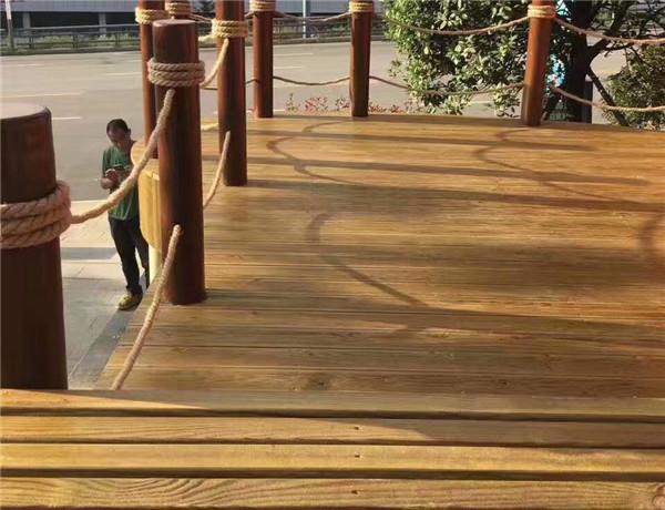 眉山防腐木地板工程案例