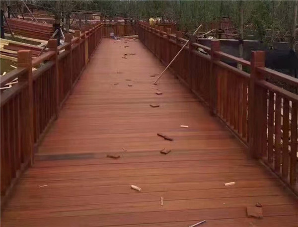 南充防腐木地板