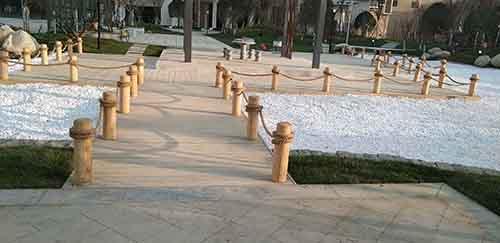 近期工程案例展示-成都防腐木地板