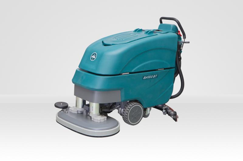 BA660BT雙刷電瓶式全自動洗地機